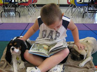 Dogs help kids with scocial development: Nine Ways How Special Dogs are Helping Children with Special Needs