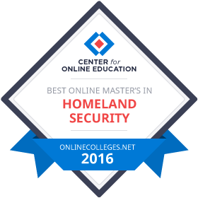 Best Online Master's in Homeland Security Degree Programs