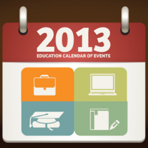 2013 Education Calendar of Events